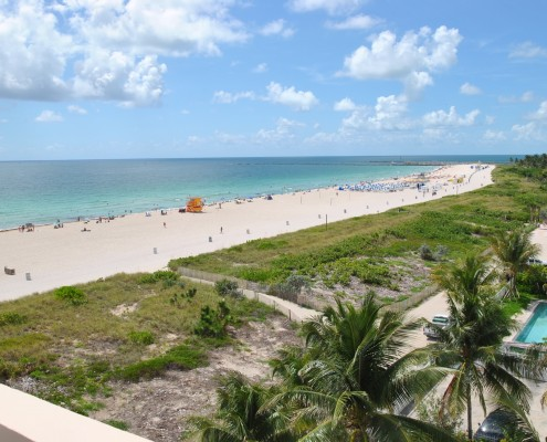 South of Fifth Oceanfront Condo for rent.